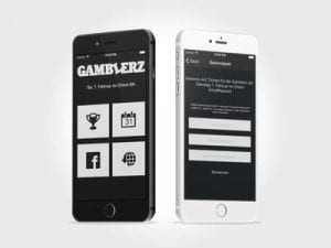 App: iOS App für das Gamblerz Partylabel