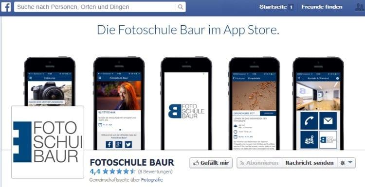 Fotoschule Baur App Sujets