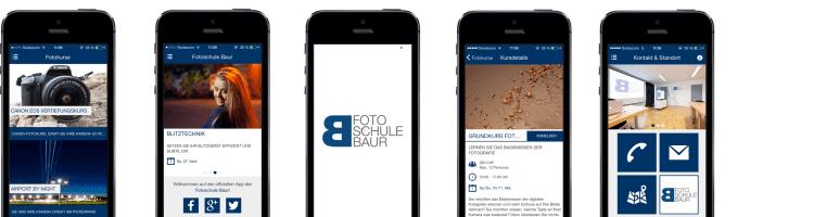 Fotoschule Baur App