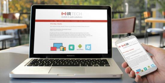 Webentwicklung: Unsere Webseiten sind alle für Mobile Endgeräte optimiert