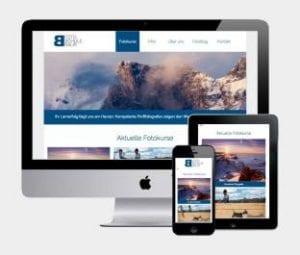 Fotoschule Baur Neue Webseite