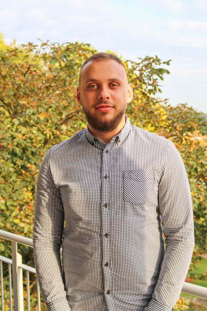 Fitim Kuqi, Projektmanager bei IRTECH