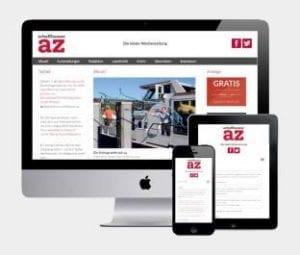 Schaffhauser AZ: Komplett neue Webseite