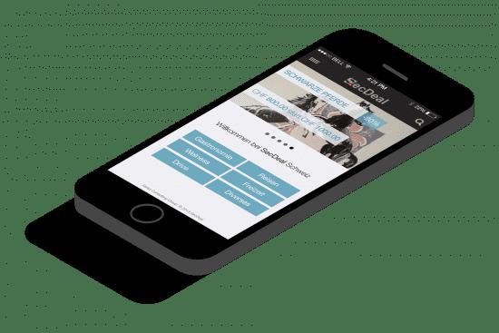 M-Commerce Lösung für die Shopping-Plattform SecDeal
