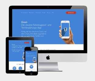 Webseite für das Dreet-Projekt