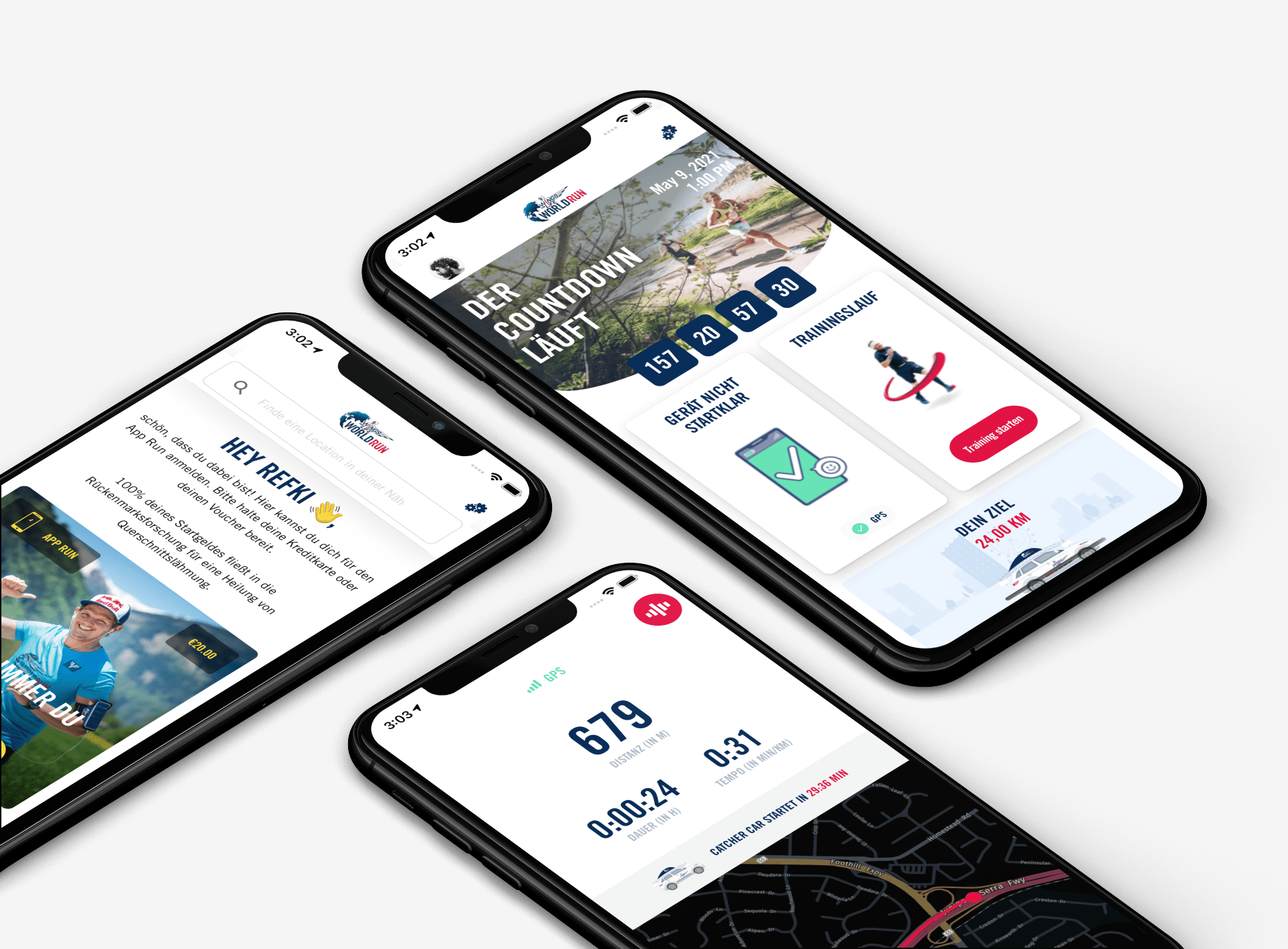App Entwicklung von IRTECH - Wings for Life World Run App