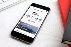 Eine von IRTECH Entwickelte App in Action.