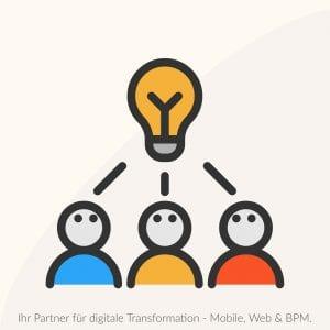 Strategiewechsel sind bei der Digitale Transformation nötig.