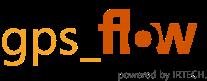 Logo der IRTECH GPS Flow Suite.