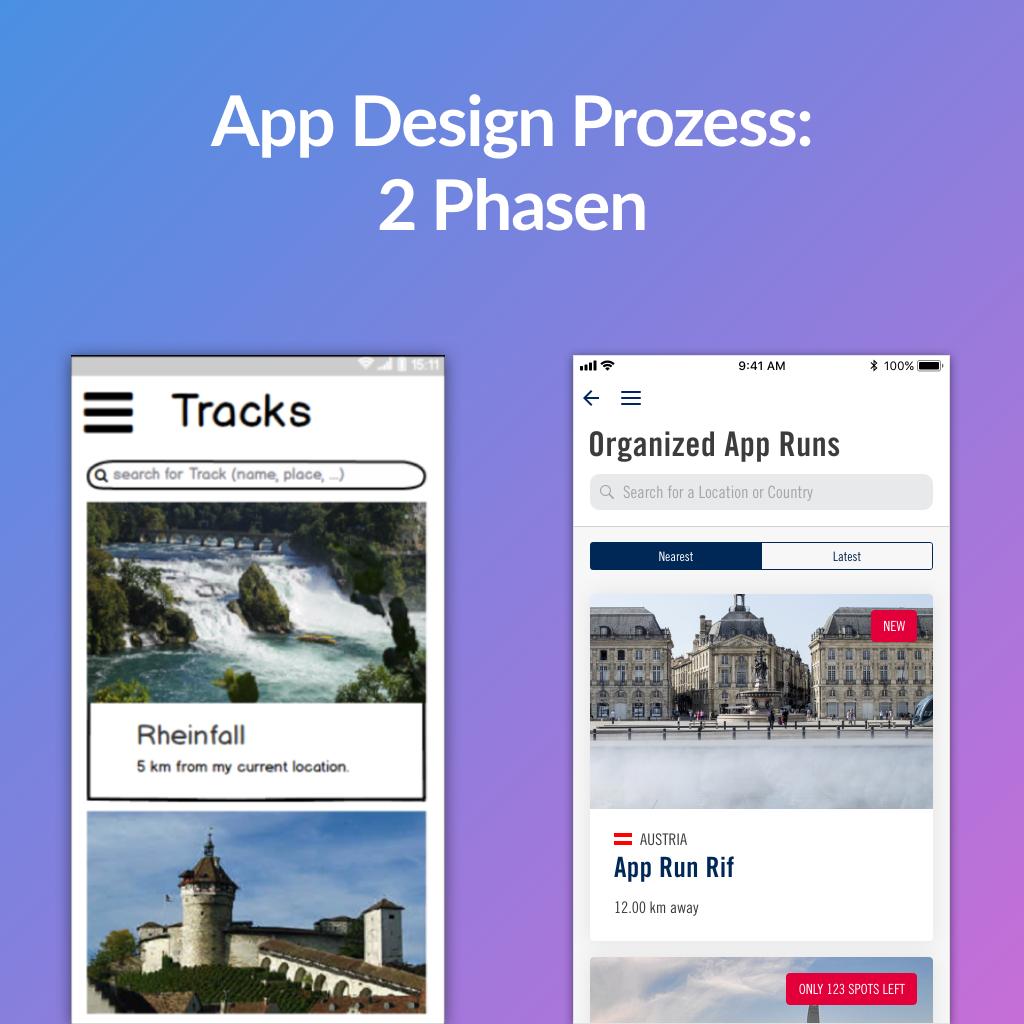 App welche wir für die Fotoschule Baur entwickelt haben
